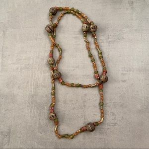 East African beaded necklace